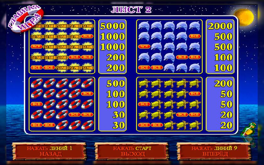 игровые автоматы играть онлайн бесплатно остров
